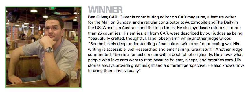 Ben Oliver